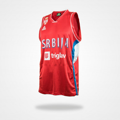Maillot officiel Serbie (Rouge)