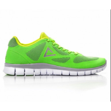 Running shoes verte