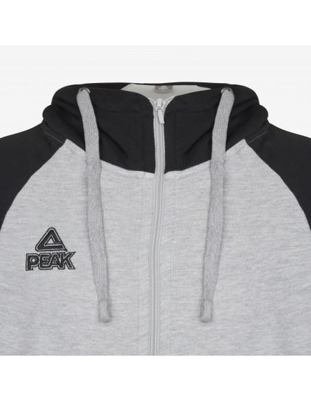 Hoodie Zip Peak - bi-color Élite