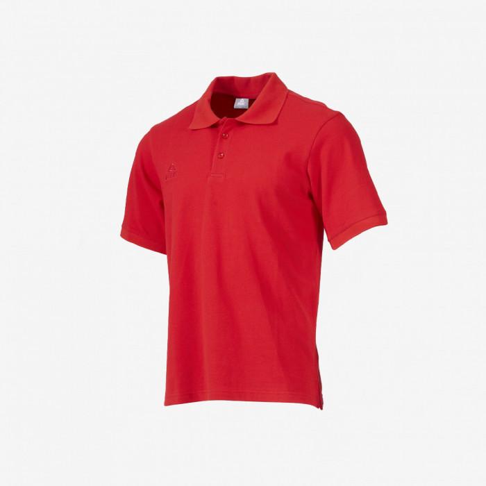 Polo coton - Rouge