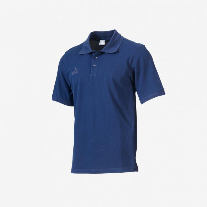 Polo coton - Bleu