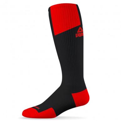 Chaussettes Hautes Pro Noir/Rouge
